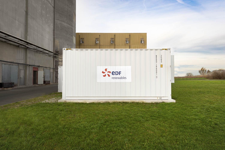"""""""BESS"""" Batteriespeicher für EDF Renewables"""